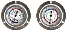 Refrigerant Gauge Glycerin Filled